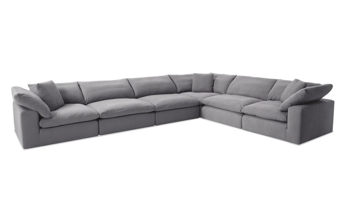 Most Recent Dream Gray Modular 6 Piece Sectional Pertaining To In Dream Navy 2 Piece Modular Sofas (View 6 of 15)