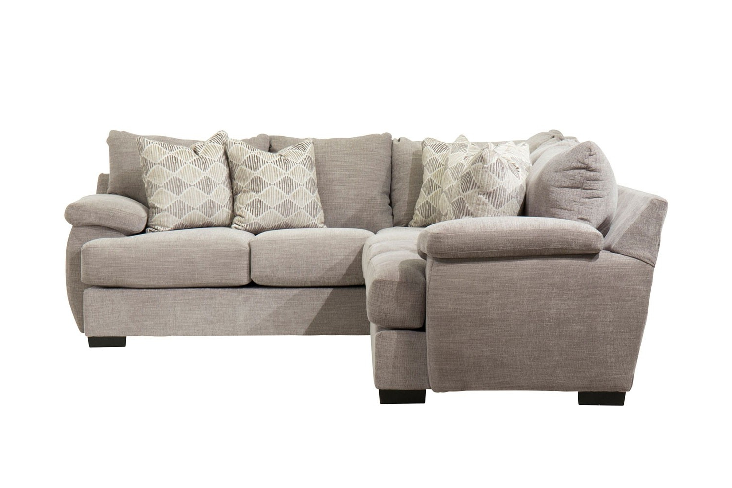 Most Recent Monet Right Facing Sectional Sofas Within Bermuda Down Right Facing Tux Sofa Sectional In Smoke (View 20 of 25)