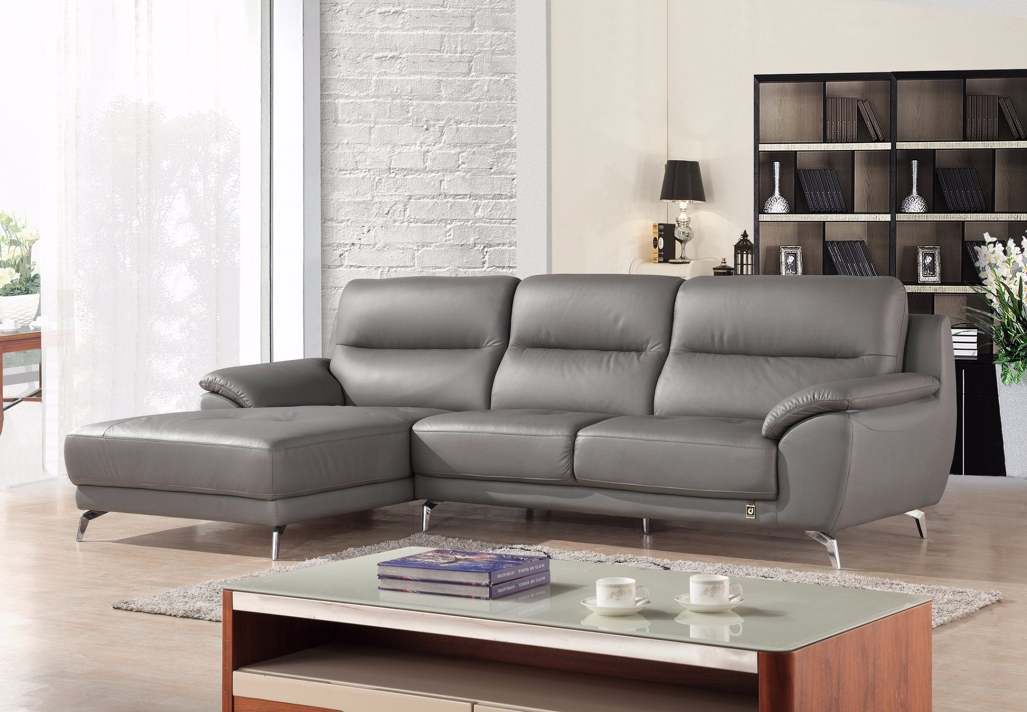 Most Recent Owego L Shaped Sectional Sofas Pertaining To China European Modern Big L Shape Sectional Leather Sofa (View 2 of 25)