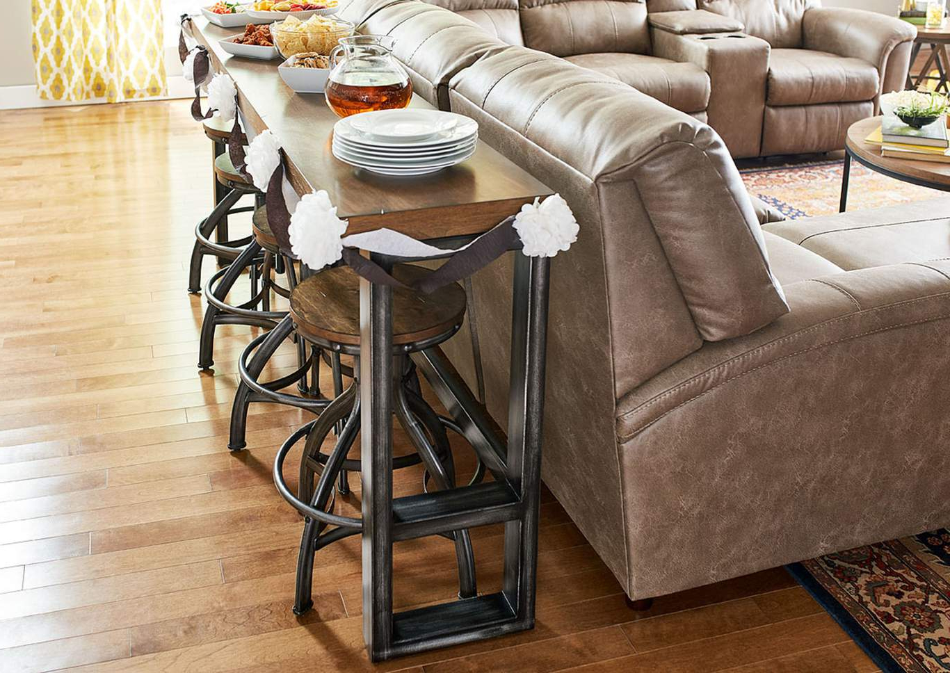 Most Recently Released Charleston Sofas Throughout 7326 Charleston Sofa Bar Table (View 12 of 15)