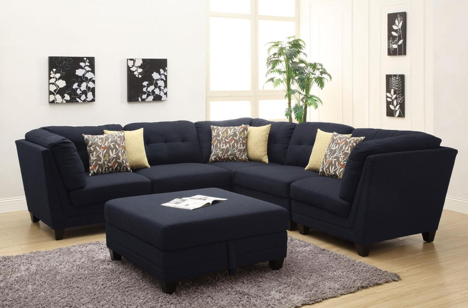 Most Recently Released Dream Navy 3 Piece Modular Sofas With 37 Beautiful Sectional Sofas Under $1, (View 4 of 15)