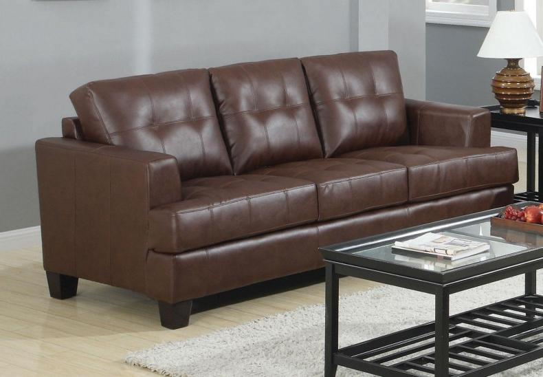Most Recently Released Samuel Dark Brown Sofa – 1Stopbedrooms (View 11 of 25)