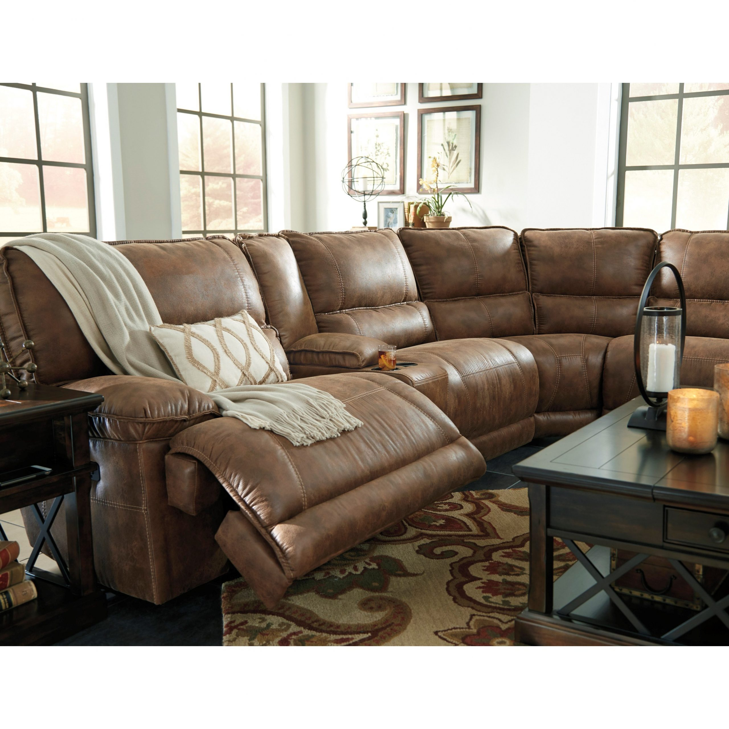 Most Recently Released Signature Designashley Grattis 6 Piece Power Reclining Inside Raven Power Reclining Sofas (View 1 of 15)