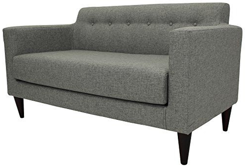 Most Up To Date Annette Navy Sofas Intended For Midcentury Modern Parker Lane Uls Nto Taa7 Netto Tufted (View 8 of 15)