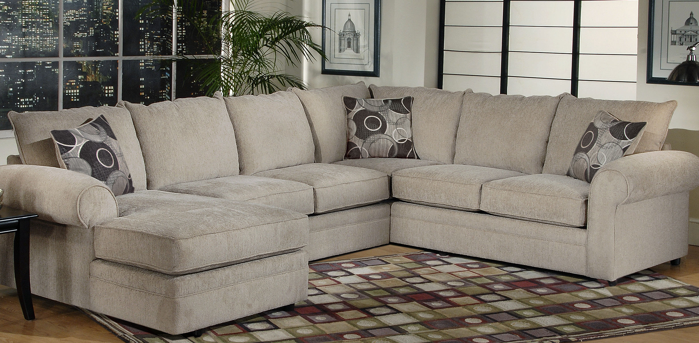 Most Up To Date Serta Upholstery Sectionals: Ashas Spiritual Essence Throughout Harmon Roll Arm Sectional Sofas (View 1 of 25)