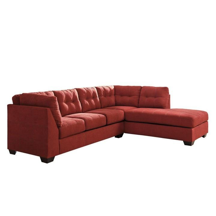 Newest 2Pc Maddox Left Arm Facing Sectional Sofas With Chaise Brown With Regard To Arthur Desmond 2 Piece Sectional (View 18 of 25)