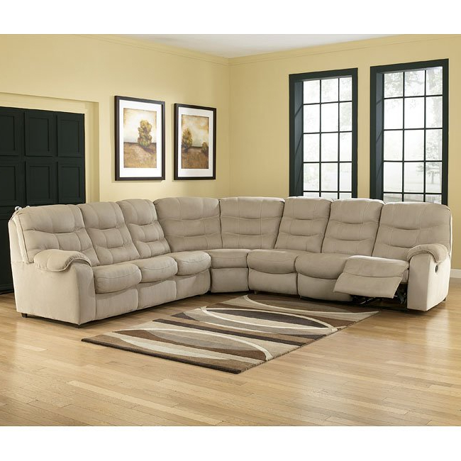 Newest Dulce Right Sectional Sofas Twill Stone In Renegade – Stone Large Sectional W/ Right Facing Sleeper (View 22 of 25)