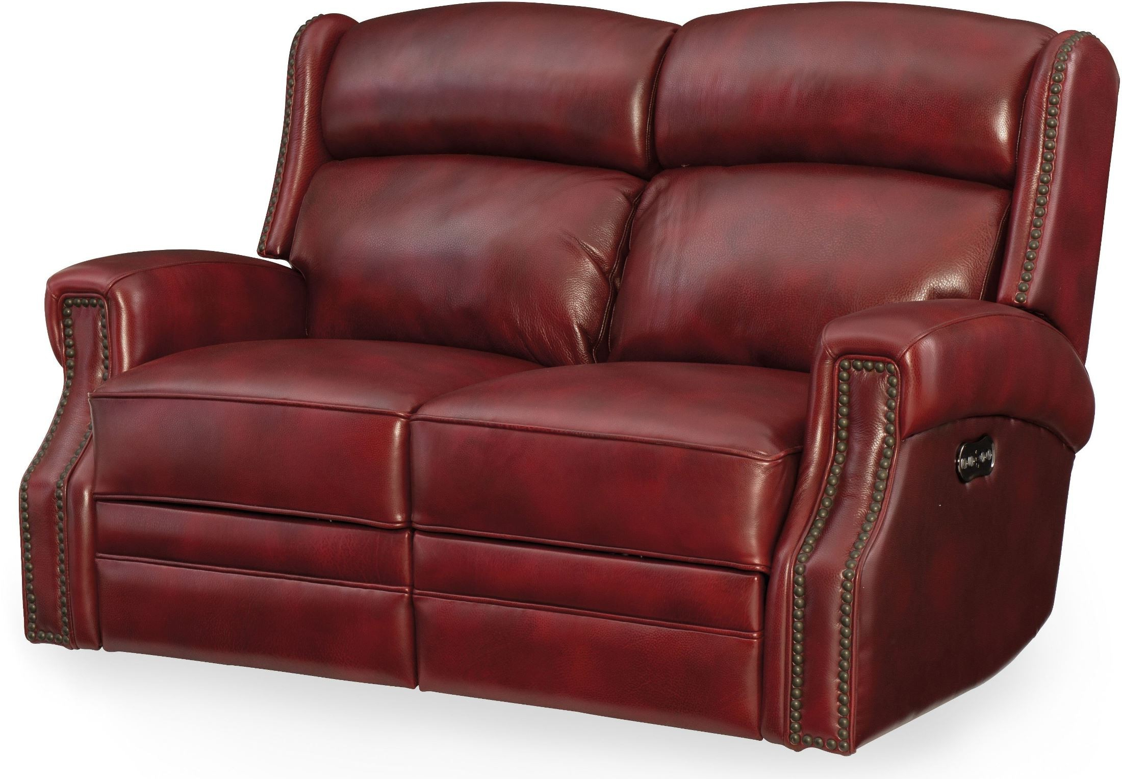 Nolan Leather Power Reclining Sofas Pertaining To Current Carlisle Red Leather Power Reclining Loveseat With Power (View 1 of 15)