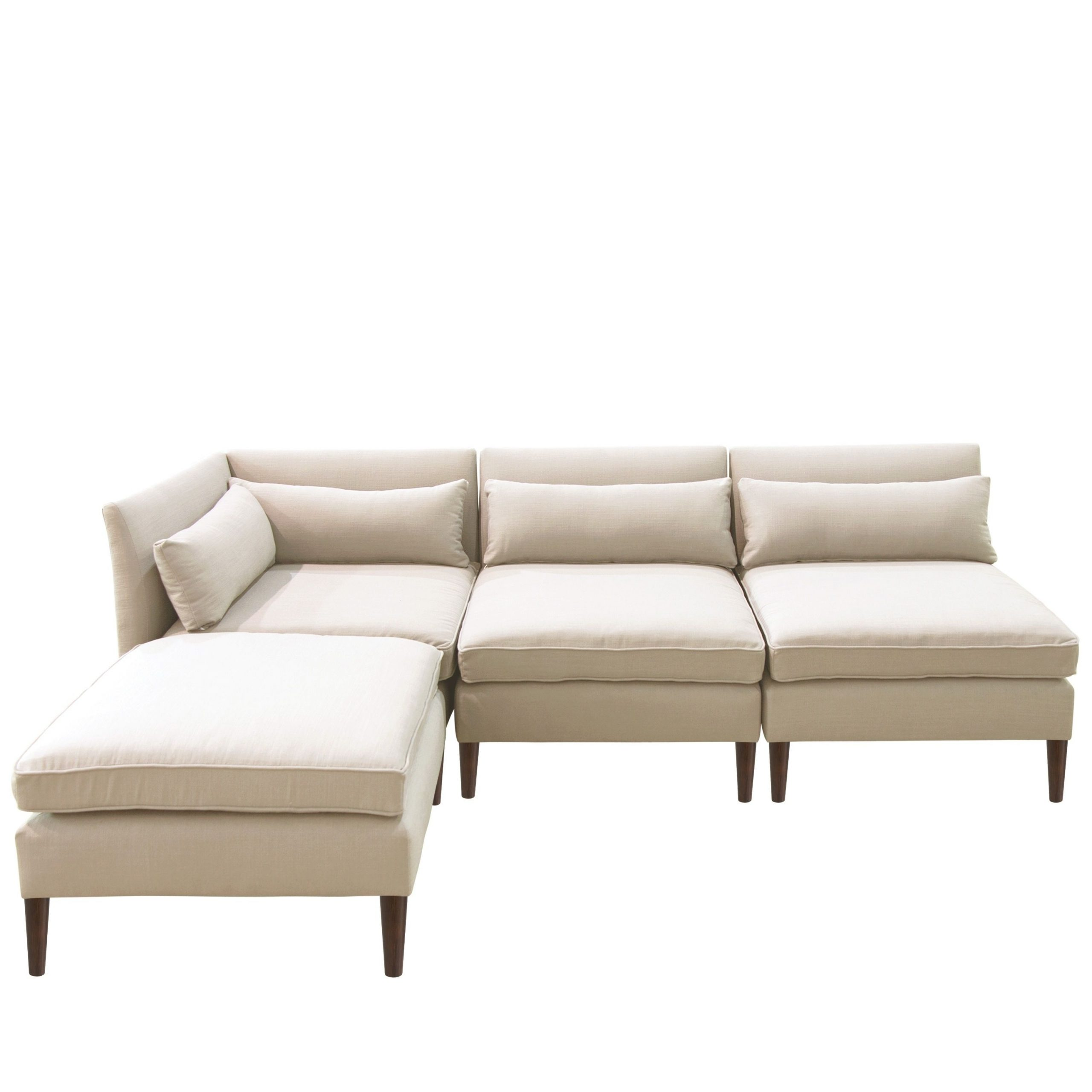 Online Shopping – Bedding, Furniture, Electronics, Jewelry With Well Known 4Pc Alexis Sectional Sofas With Silver Metal Y Legs (View 6 of 25)