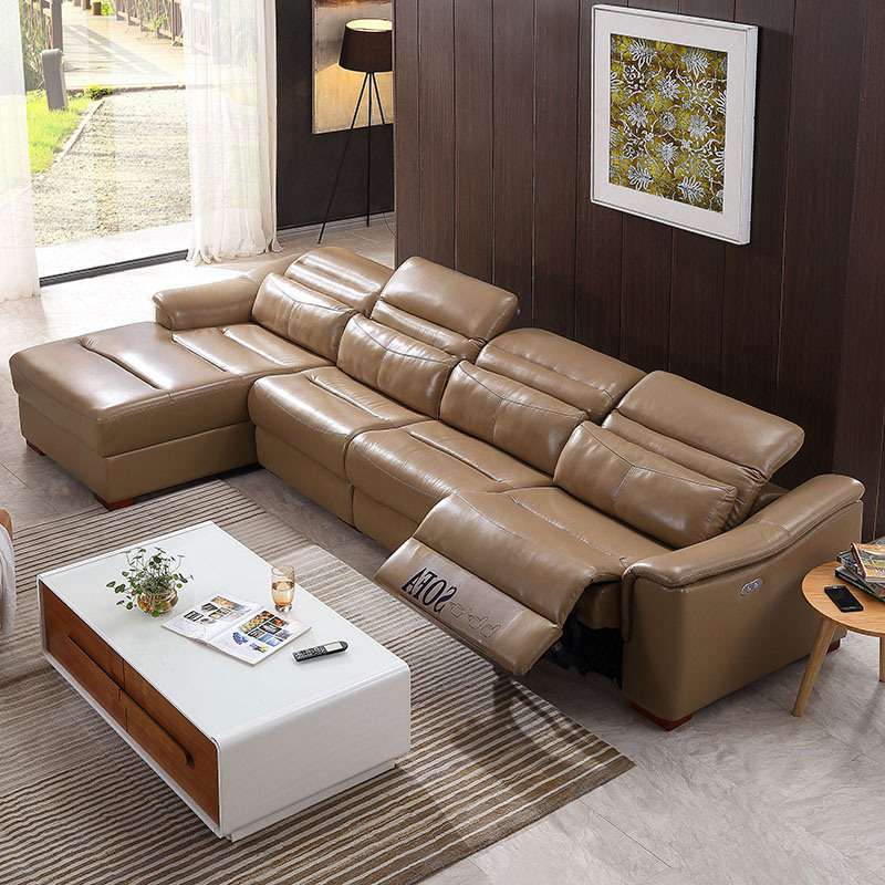 Owego L Shaped Sectional Sofas For Most Recent China Living Room Sectional L Shape Recliner Sofa Set (View 11 of 25)
