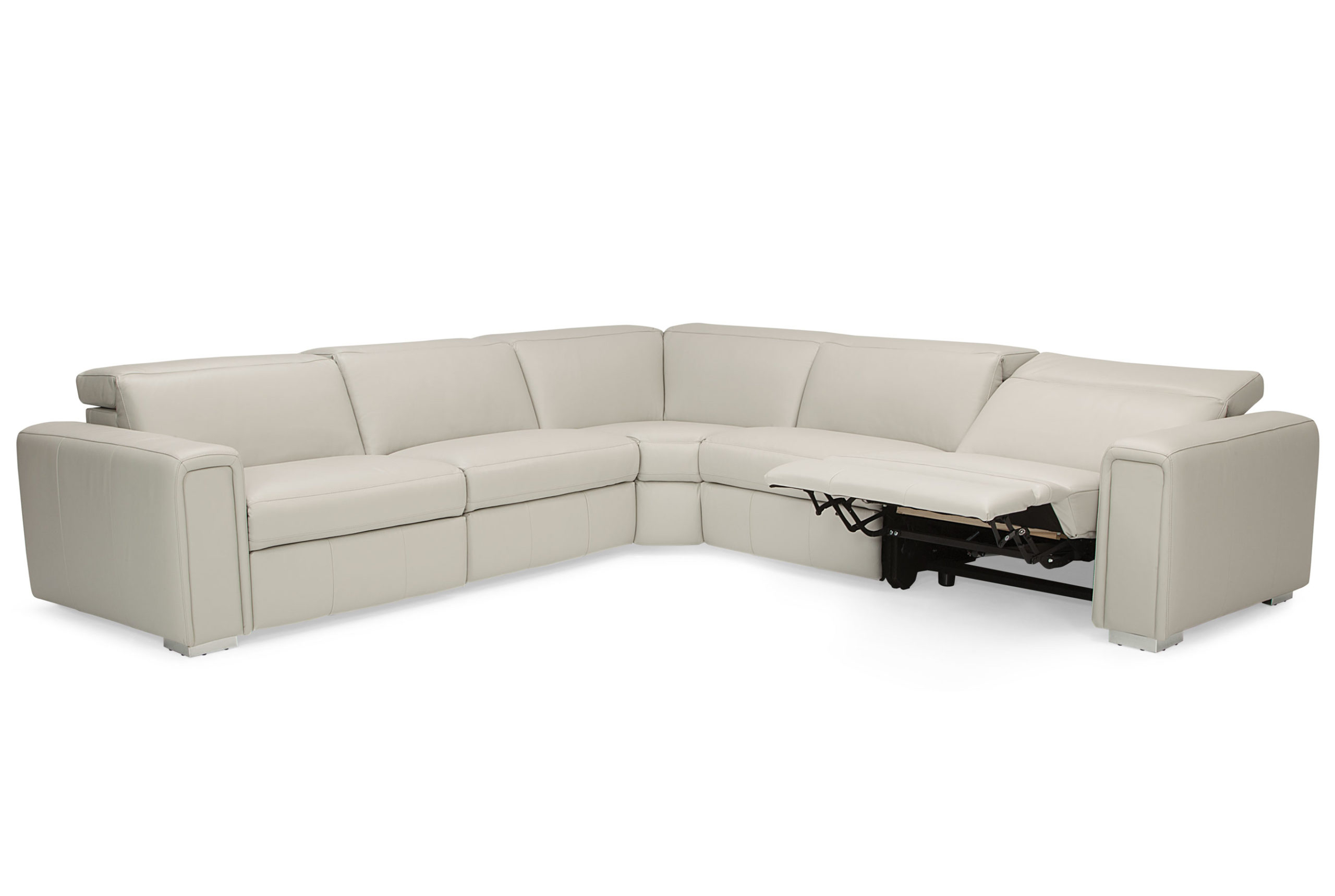 Palliser Titan 44004 Reclining Sectional With Power Intended For Famous Titan Leather Power Reclining Sofas (View 3 of 15)