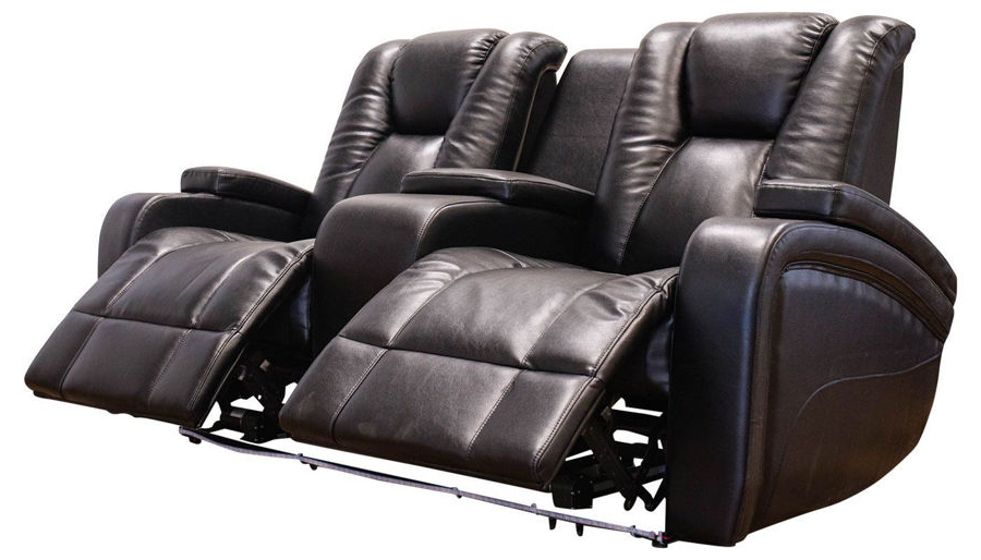 Panther Leather Power Reclining Sofa Console Loveseat For Well Known Panther Fire Leather Dual Power Reclining Sofas (View 11 of 15)