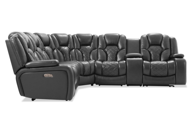 Panther Leather Power Reclining Sofa Console Loveseat Regarding Most Up To Date Panther Fire Leather Dual Power Reclining Sofas (View 5 of 15)
