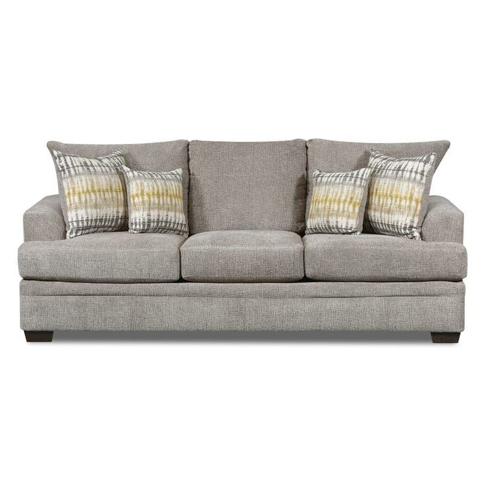 Perth Pewter Oversize Chenille Sofa (View 17 of 25)