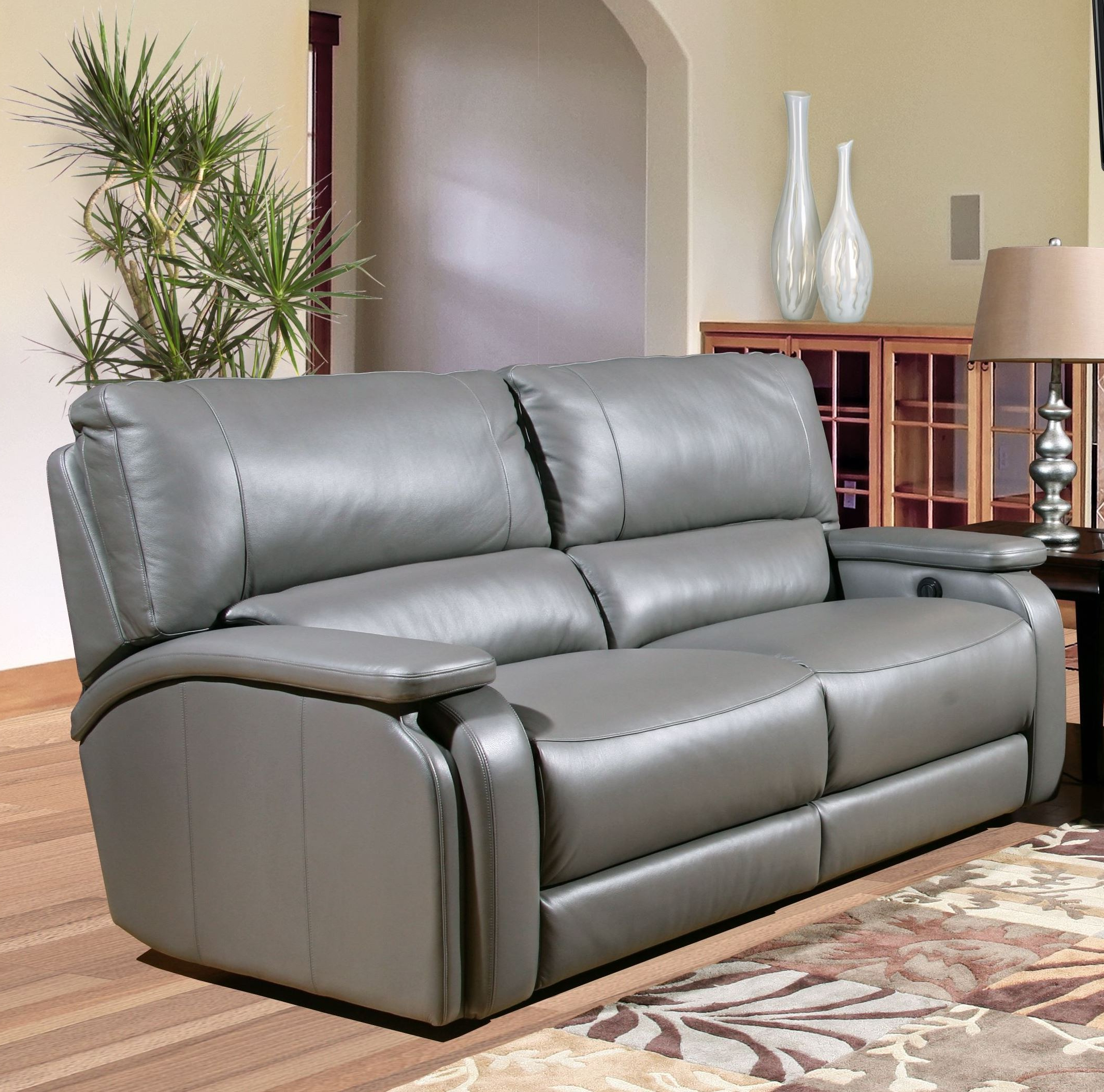 Popular Grisham Heron Dual Power Reclining Sofa From Parker Living Pertaining To Raven Power Reclining Sofas (View 4 of 15)