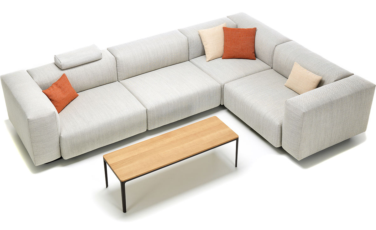 Popular Paul Modular Sectional Sofas Blue In Soft Modular Sectional Sofa – Hivemodern (View 25 of 25)