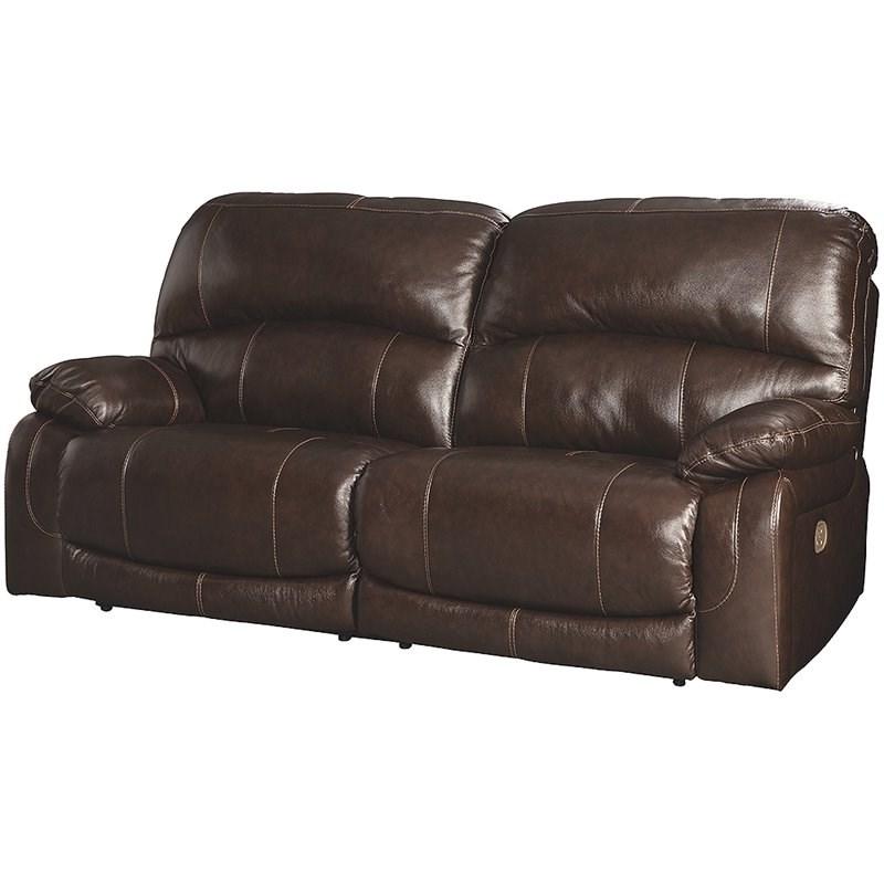 Preferred Nolan Leather Power Reclining Sofas Regarding Ashley Furniture Hallstrung Leather Power Reclining Sofa (View 10 of 15)