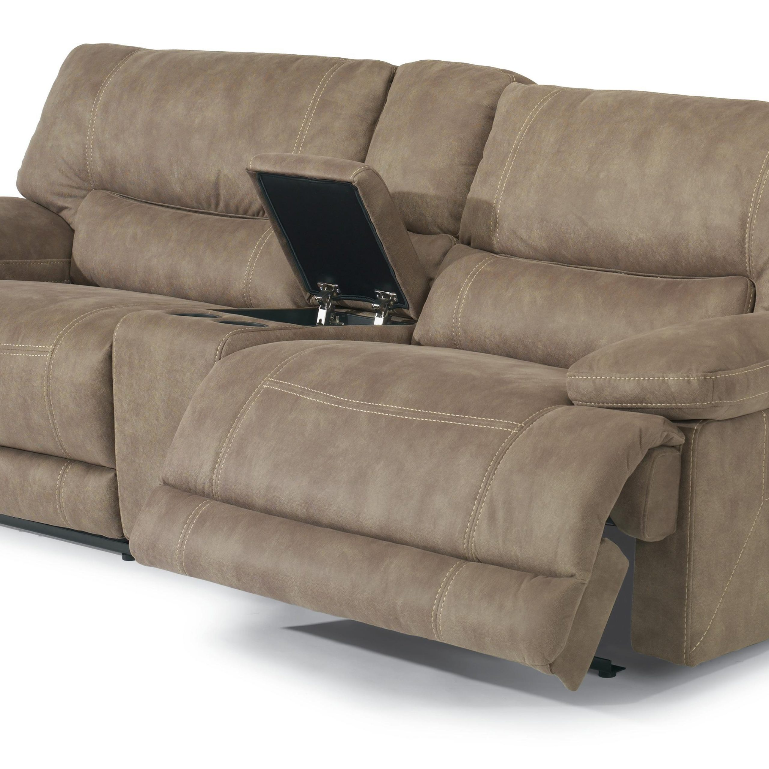 Preferred Power Reclining Sofas Within Flexsteel Latitudes – Delia Power Reclining Sectional Sofa (View 8 of 15)