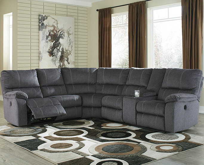 Preferred Urbino 3 Piece Reclining Sectional With Power (View 11 of 25)