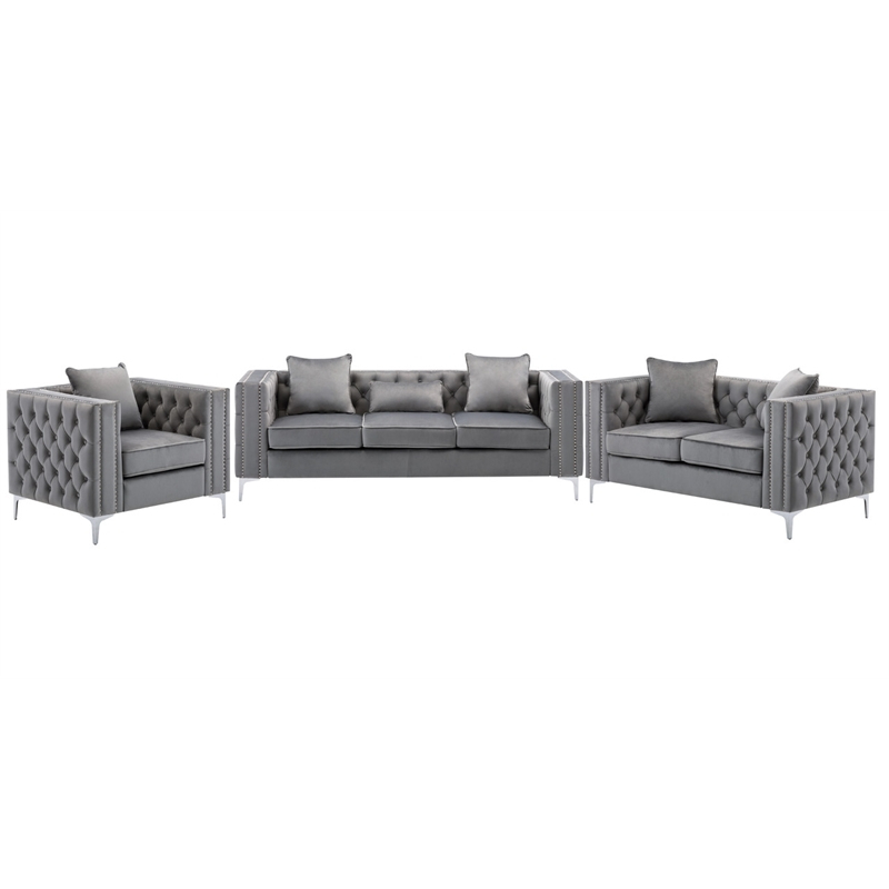 Recent 2Pc Maddox Left Arm Facing Sectional Sofas With Cuddler Brown In Living Room Sets: Sofa Sets With Couch And Loveseat (View 1 of 20)