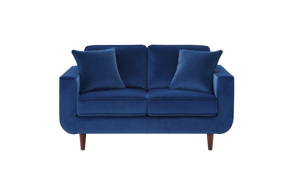 Recent 2Pc Modern Navy Sofa Set  Rand (View 15 of 15)