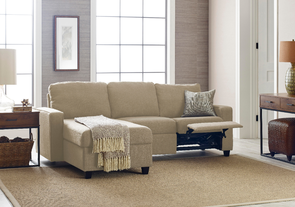 Recent Copenhagen Reclining Sectional Sofas With Right Storage Chaise Pertaining To Serta Palisades Reclining Sectional With Right Storage (View 25 of 25)