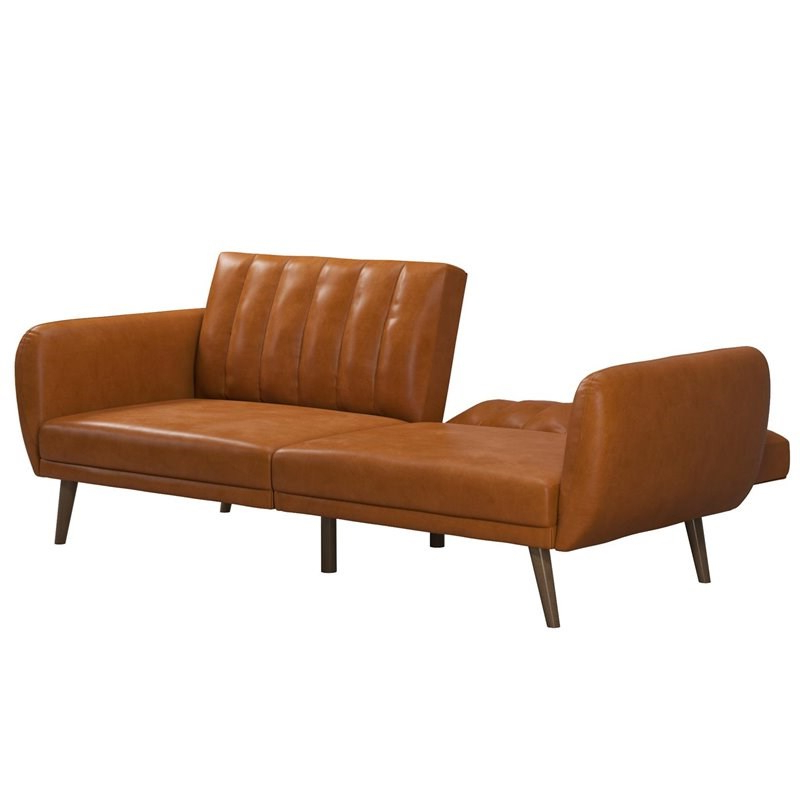 Recent Novogratz Brittany Futon In Convertible Sofa & Couch In Intended For Brittany Sectional Futon Sofas (View 11 of 25)