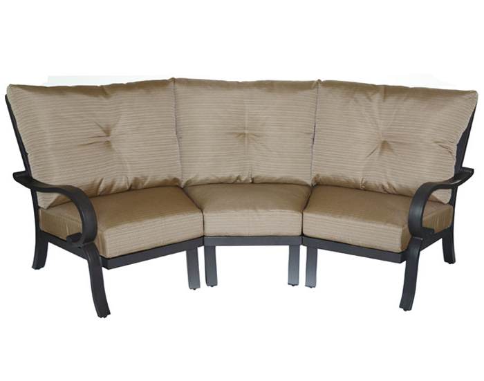 Scarlett 3Pc Curved Sofa With Cushions (View 5 of 15)