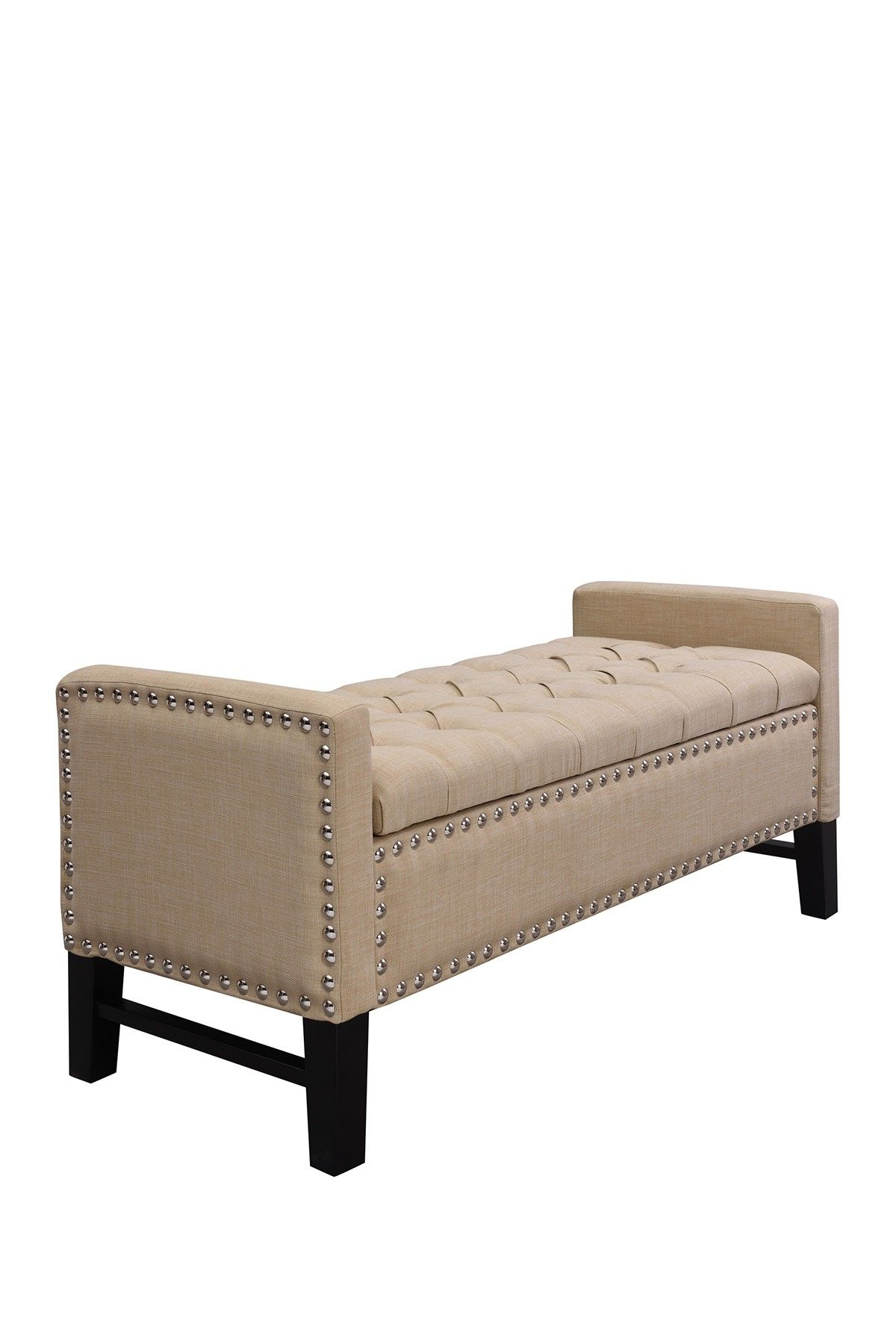 Scarlett Beige Sofas Intended For Widely Used Inspired Home Scarlett Linen Modern Contemporary Button (View 2 of 15)
