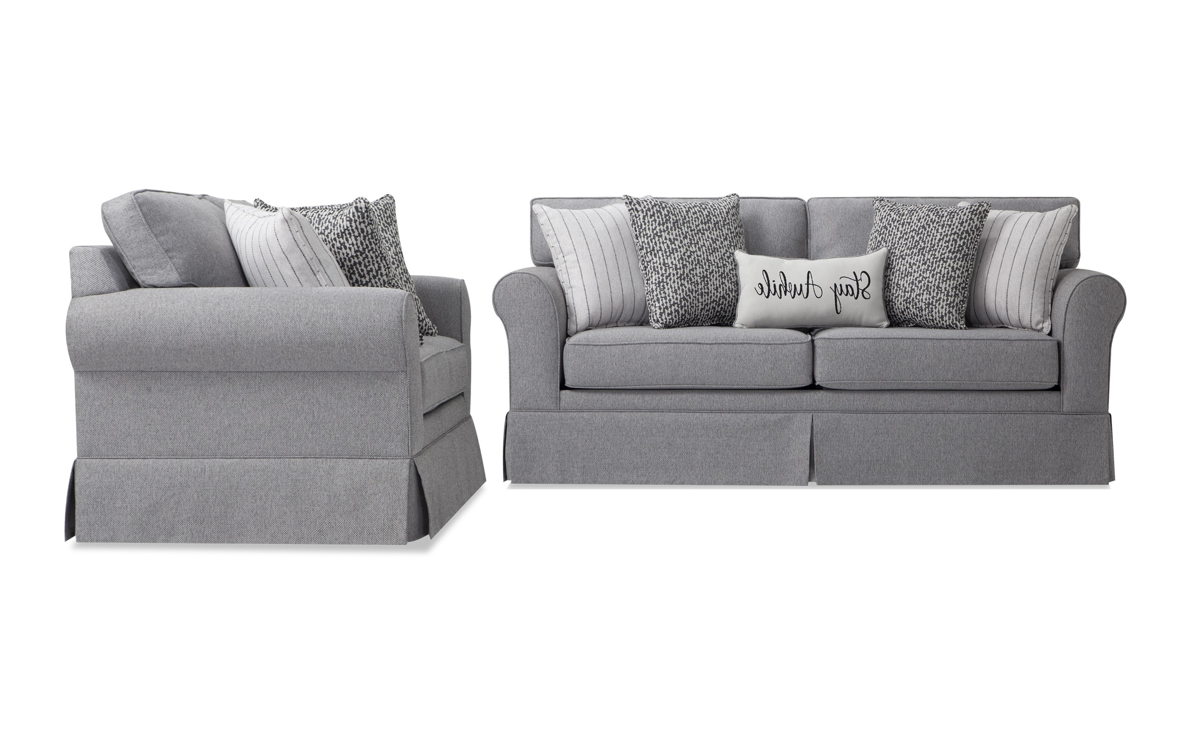 Scarlett Beige Sofas Regarding Widely Used Bobs Furniture Sofa And Loveseat Sets (View 3 of 15)