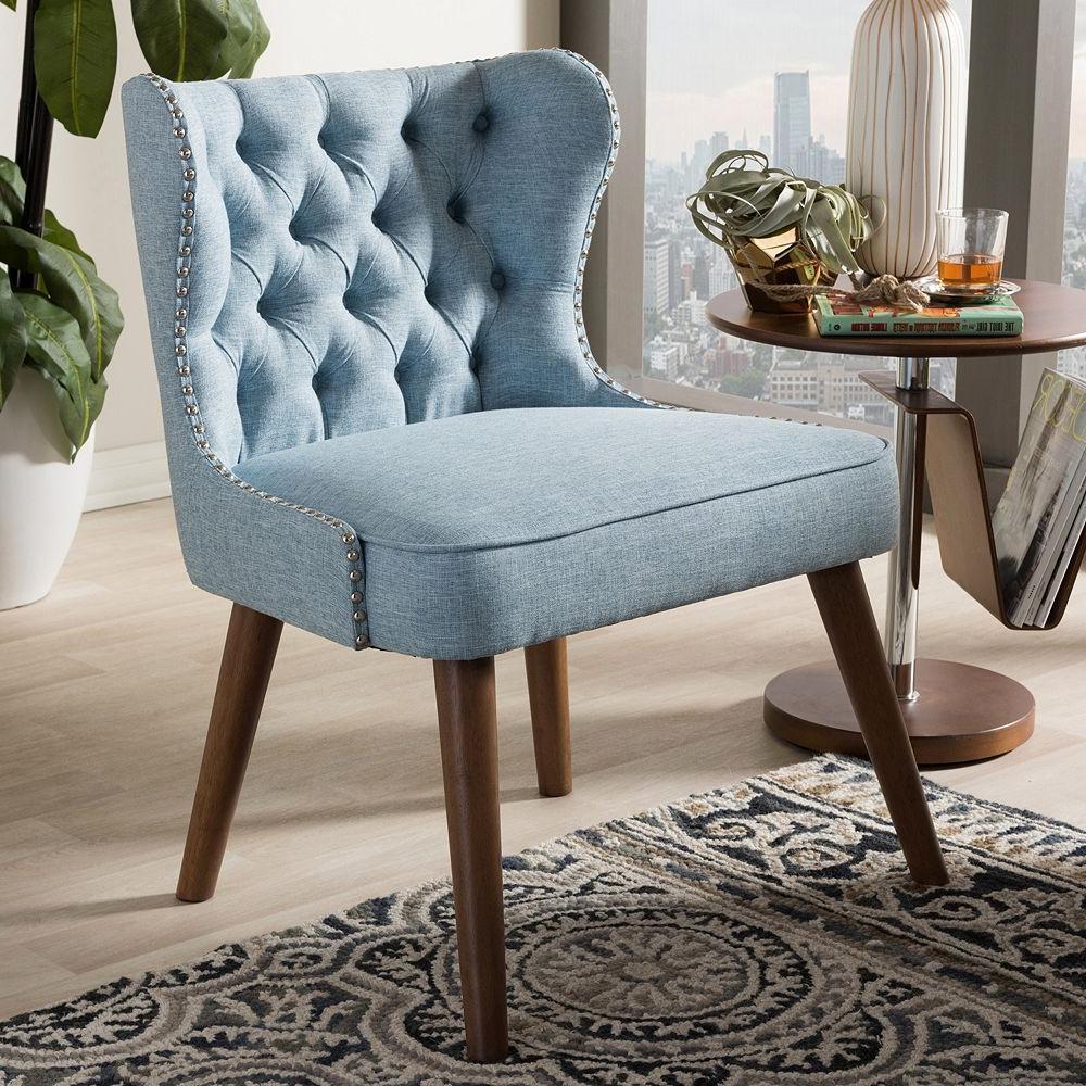 Scarlett Beige Sofas Within Most Recently Released Baxton Studio Scarlett Mid Century Modern Accent Chair (View 6 of 15)