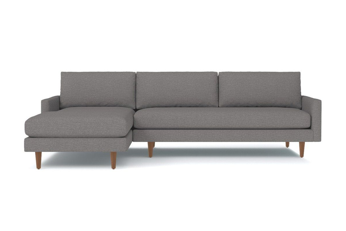 Scott 2Pc Sectional Sofa :: Leg Finish: Pecan Within Recent 2Pc Burland Contemporary Chaise Sectional Sofas (View 14 of 25)