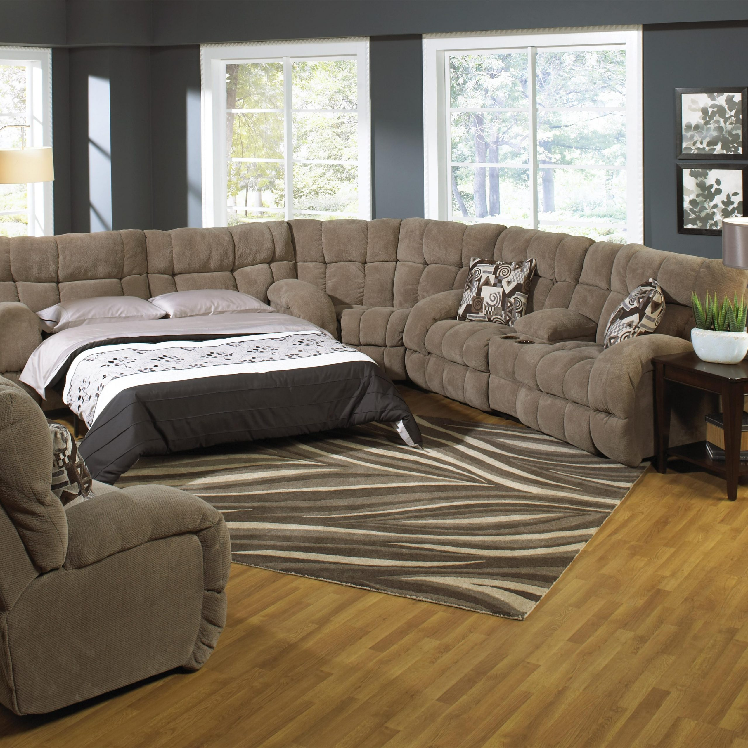 Sectional Sofa Sleepers For Better Sleep Quality And Pertaining To Newest Easton Small Space Sectional Futon Sofas (View 21 of 25)