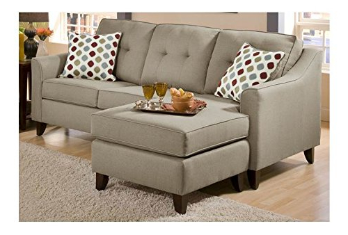 Sectionals Under $1000 Within Most Recent 2Pc Maddox Left Arm Facing Sectional Sofas With Cuddler Brown (View 16 of 20)