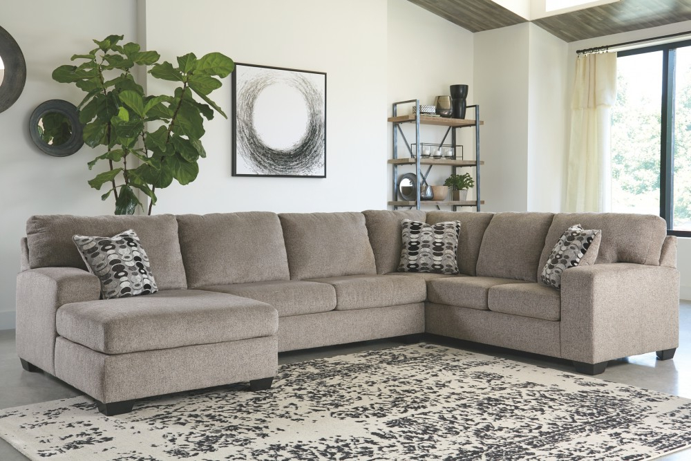 Sectionals Within 3Pc Polyfiber Sectional Sofas (View 10 of 25)