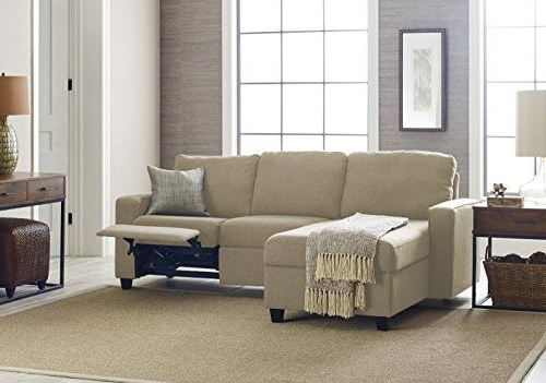 Serta 308701287L Palisades Reclining Storage Chaise, Left In Most Recently Released Copenhagen Reclining Sectional Sofas With Left Storage Chaise (View 20 of 25)