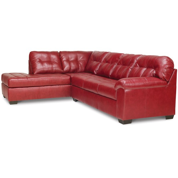 Shop Art Van Soho 2 Piece Sleeper Sectional In Red With Regard To Newest Cromwell Modular Sectional Sofas (View 2 of 25)