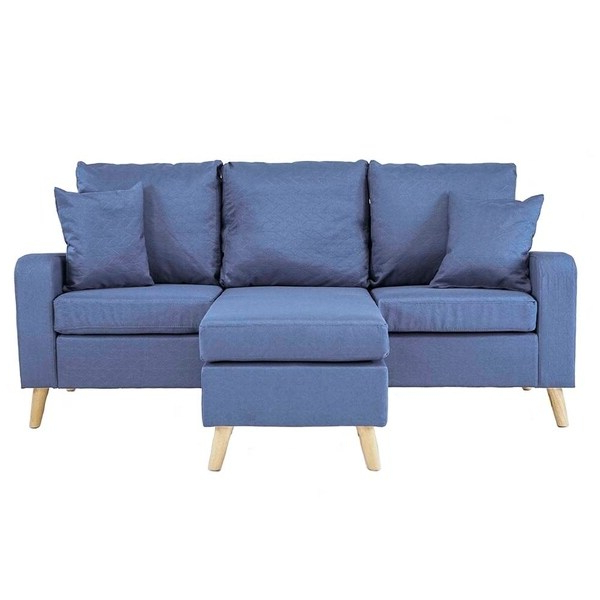 Shop Mid Century Style Small Space Reversible L Shape In Fashionable Verona Mid Century Reversible Sectional Sofas (View 12 of 25)