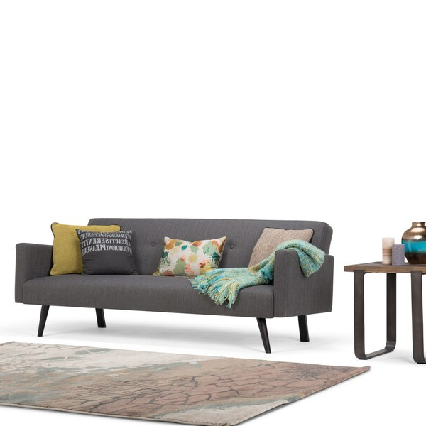 Shop Wyndenhall Trevor Transitional 77 Inch Wide Sofa Bed With Regard To Well Known Trevor Sofas (View 6 of 15)