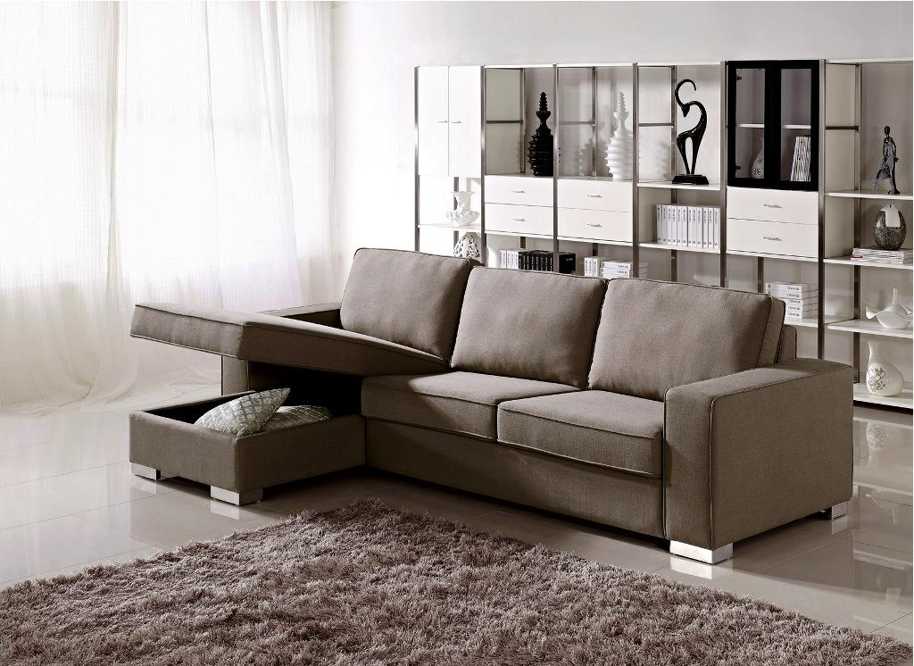 Small Sectional Sofa With Chaise: Perfect Choice For A In Most Popular Easton Small Space Sectional Futon Sofas (View 5 of 25)