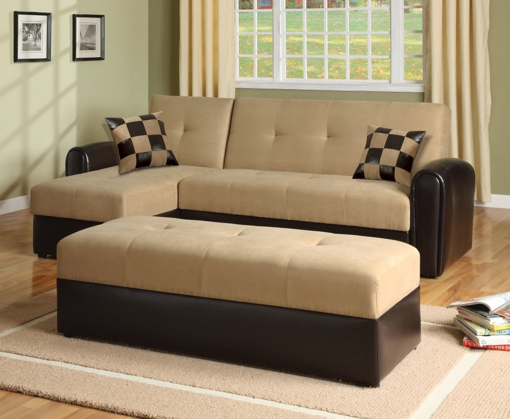 Sofa Bed Clearance Ideas – Homesfeed Intended For Well Known Celine Sectional Futon Sofas With Storage Reclining Couch (View 22 of 25)