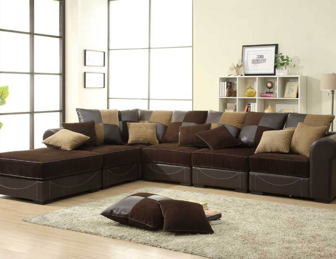 Sofas For Small Spaces, Brown (View 3 of 25)
