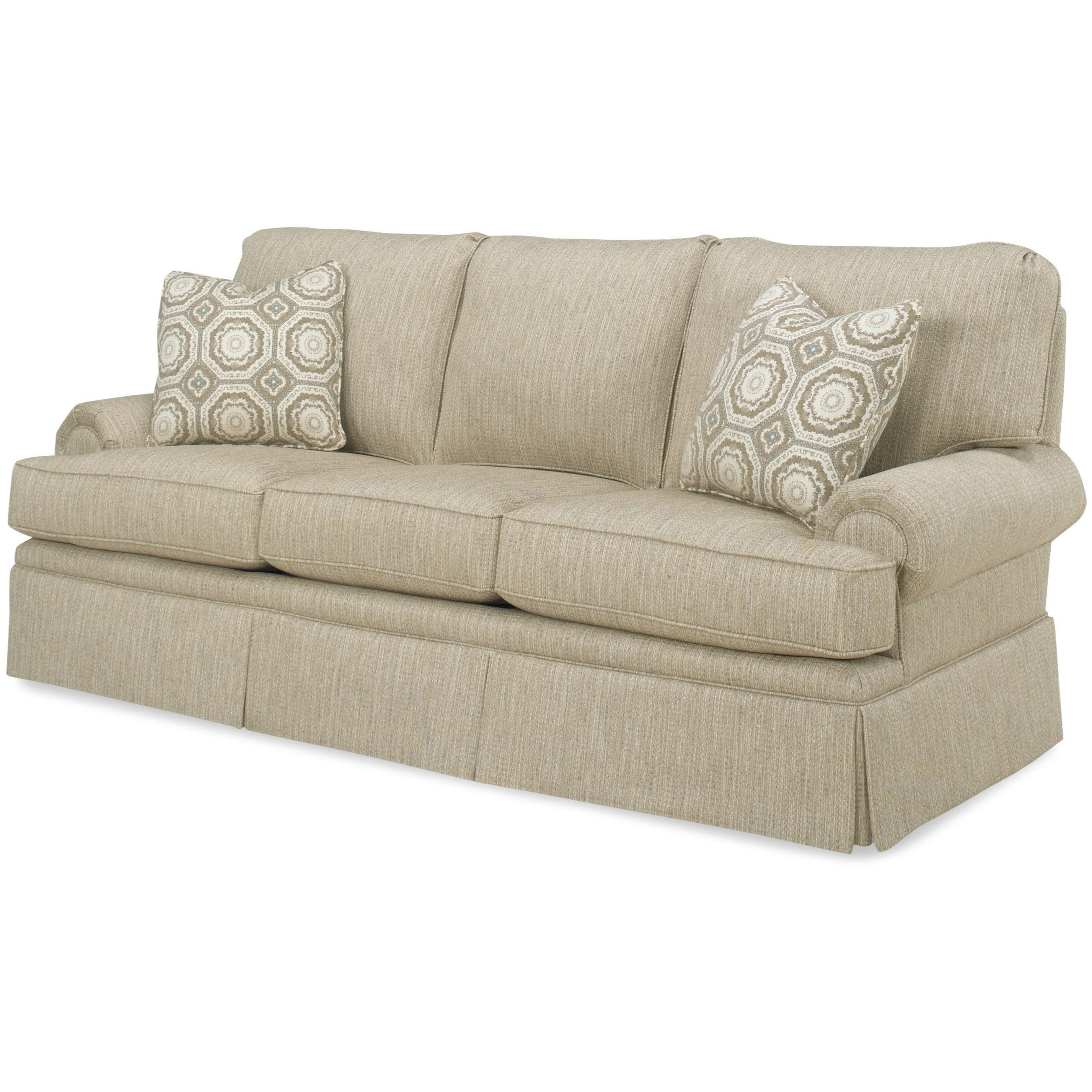 Temple Furniture Winston Sofa With Skirt (View 5 of 25)