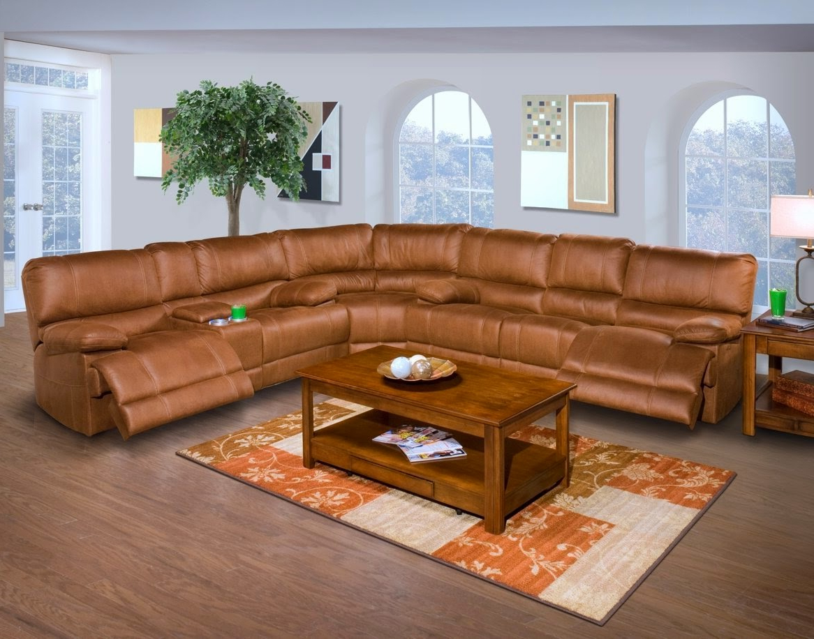 The Best Reclining Sofas Ratings Reviews: Barton 6 Pc Inside Well Liked Raven Power Reclining Sofas (View 8 of 15)
