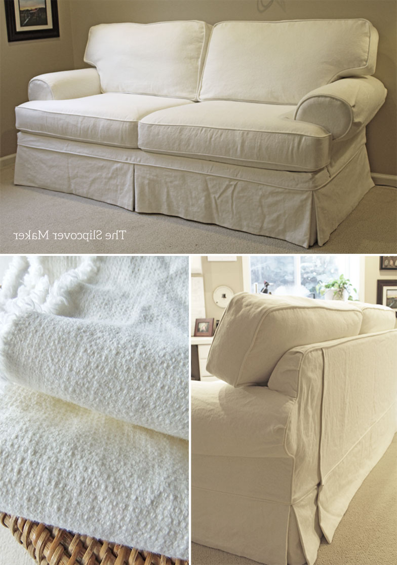 The With Camila Poly Blend Sectional Sofas Off White (View 14 of 25)