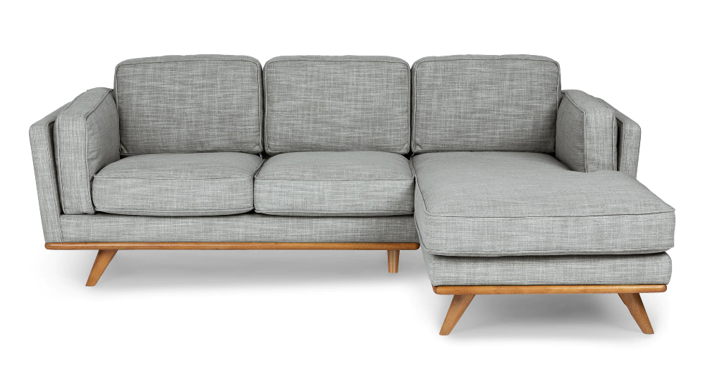 Timber Pebble Gray Left Sectional (View 15 of 25)