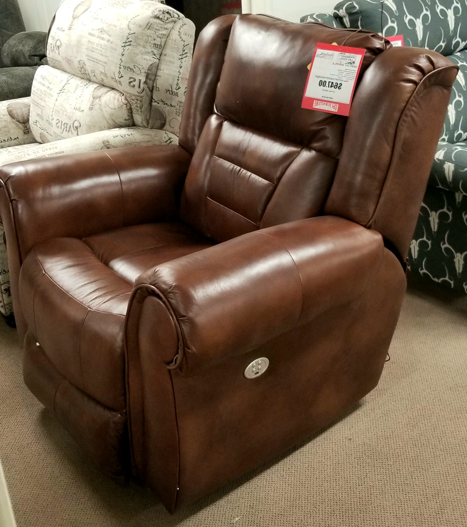 Titan Leather Power Reclining Sofas Regarding Most Current Recliners (View 7 of 15)