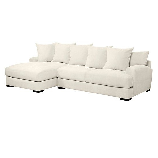 Trendy 2Pc Maddox Right Arm Facing Sectional Sofas With Chaise Brown Pertaining To Stella Chaise Sectional – 2 Pc – Right Arm Facing (View 9 of 25)