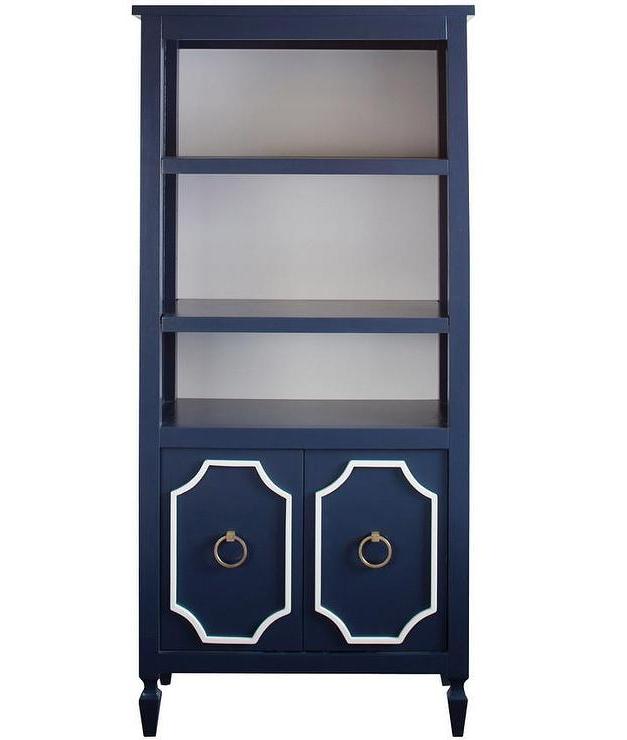 Trendy Beverly Navy Bookcase I Annette Tatum Kids Regarding Annette Navy Sofas (View 11 of 15)