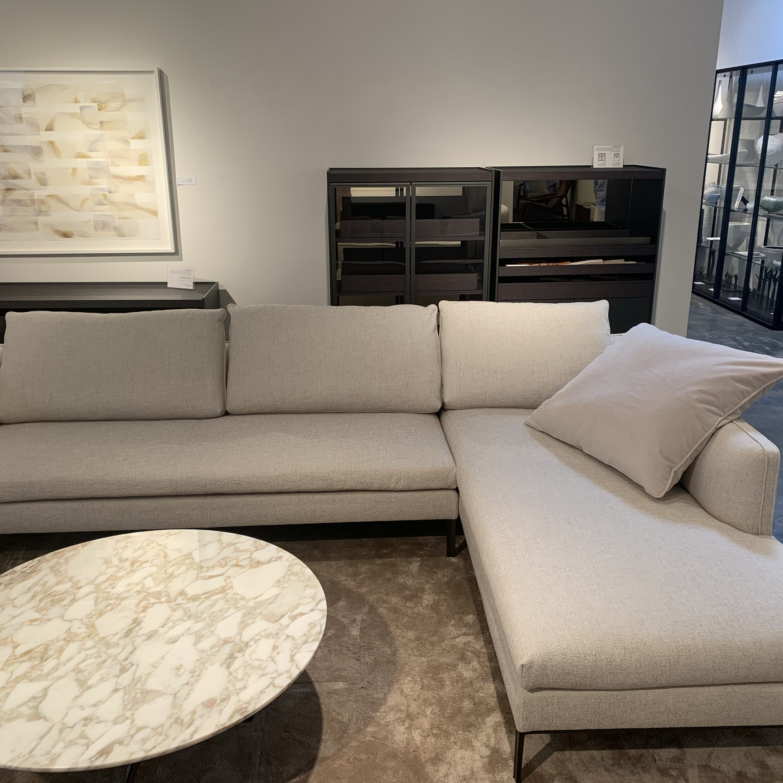 Trendy Share For Paul Modular Sectional Sofas Blue (View 2 of 25)